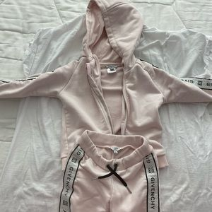 Givency girls track suit size 2